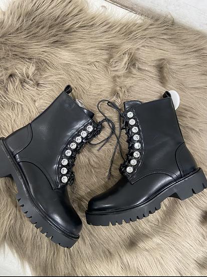 boots avec  perles