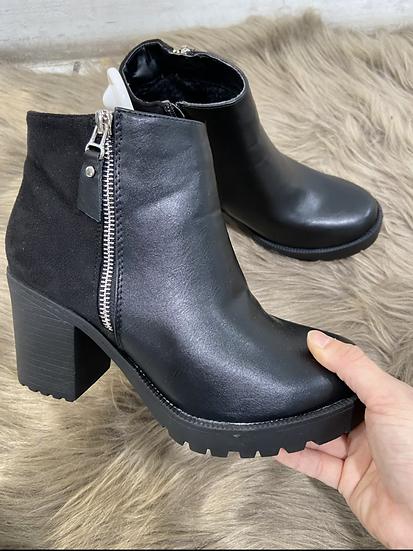 Boots avec fermetures
