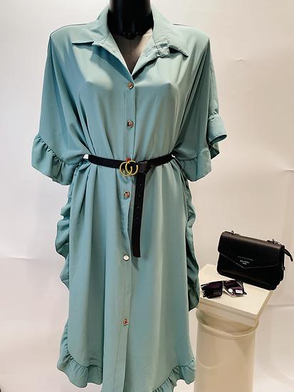 Robe avec ceinture