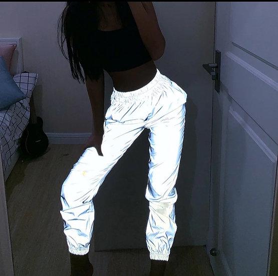 pantalons de survêtement réfléchissants,