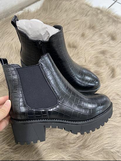 Boots en cocro elastique