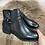 Thumbnail: boots noirs  avec boucles
