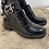 Thumbnail: Boots en style croco avec boucles