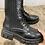Thumbnail: BOOTS NOIRES ÉLASTIQUE avec lacets