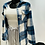 Thumbnail: Manteau À Carreaux Avec Boutons