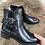 Thumbnail: Boots noirs avec lacets
