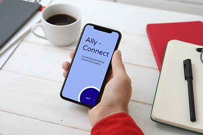 Ally Connect Mockup