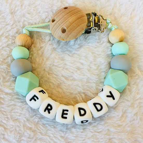 Fay Personalised Dummy Clip