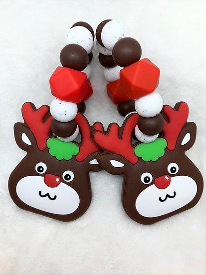 Christmas Reindeer Teether