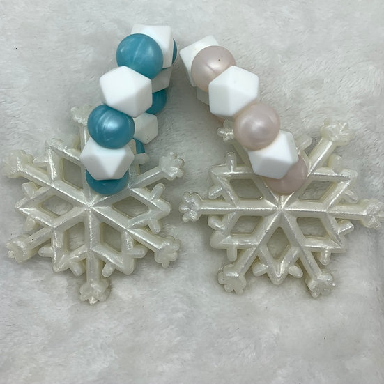 Snow Flake Teether