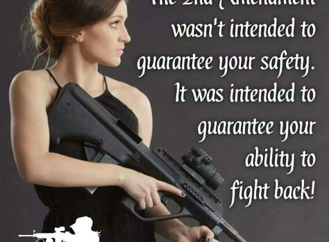 5 Reasons why the modern woman should carry a gun