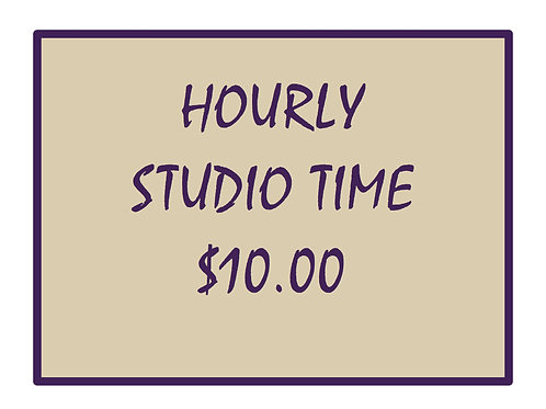 Hourly Studio Time