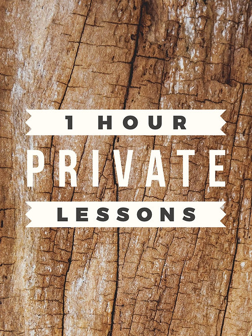 1 Hour Private Lesson