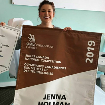 Skills Canada Bronze Winner Jenna Holman