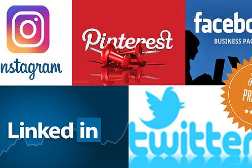 Social Media Set Up - Premium Package