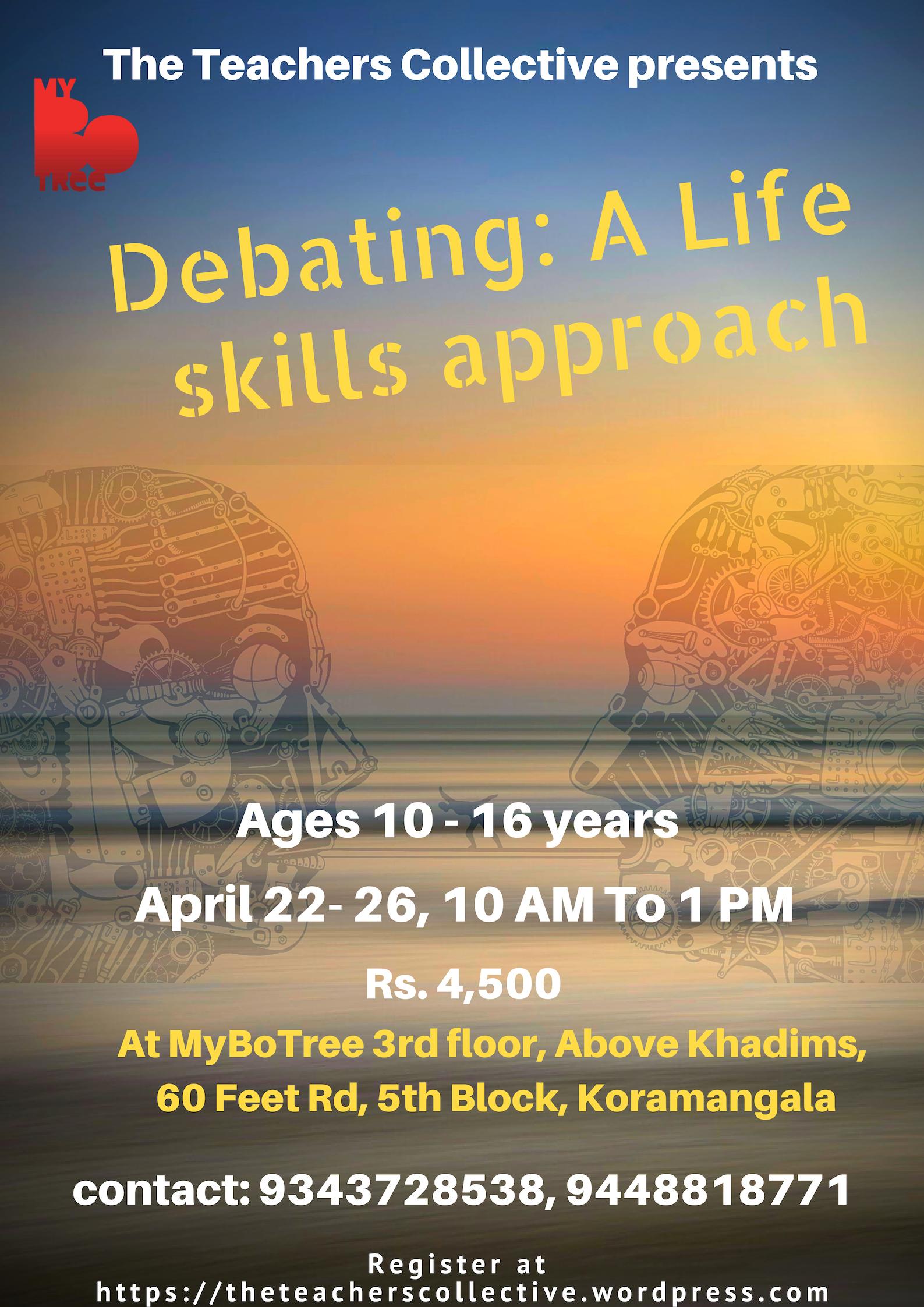 Debating life skills