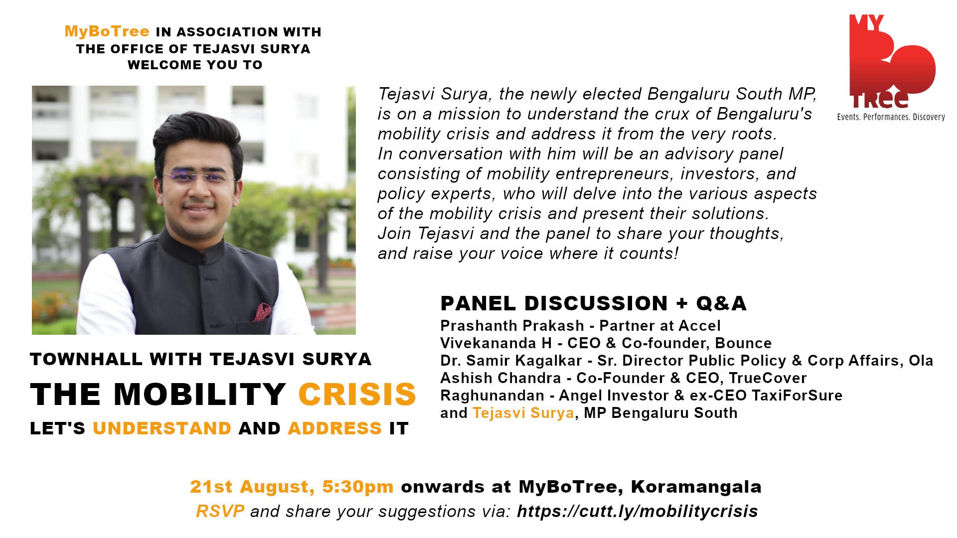Urban Mobility Tejasvi Surya