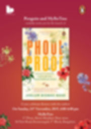 2019 11 24 Phool Proof Poster A4 - 24th