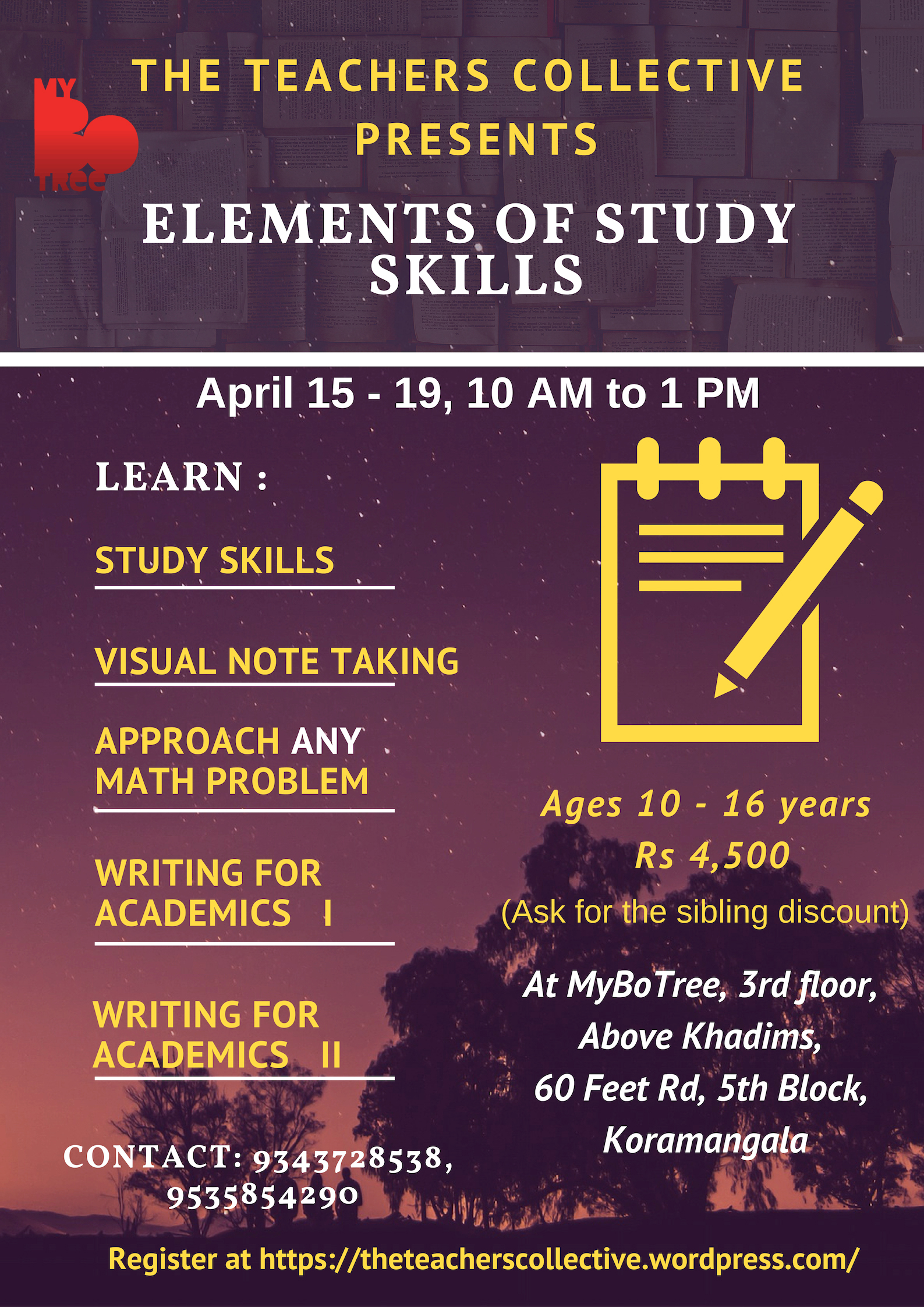 Elements of Study Skill