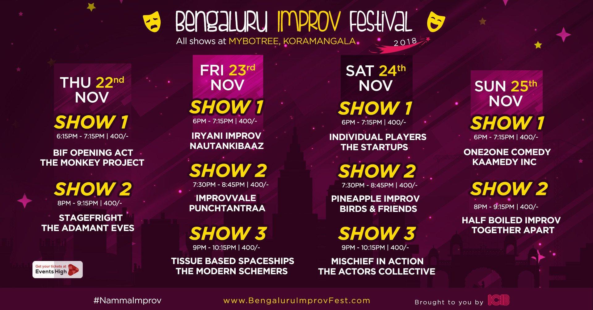 Bengaluru Improv Festival