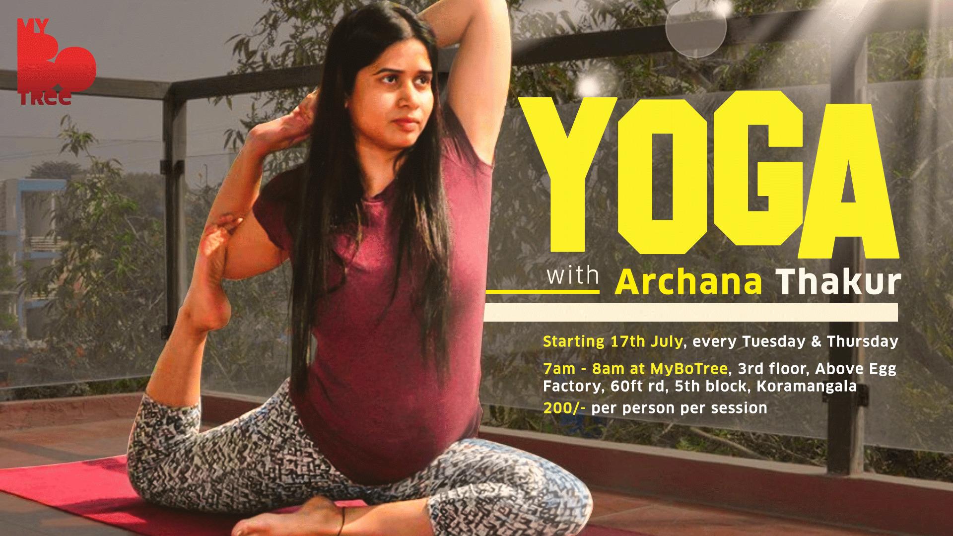 Yoga with Archana Thakur