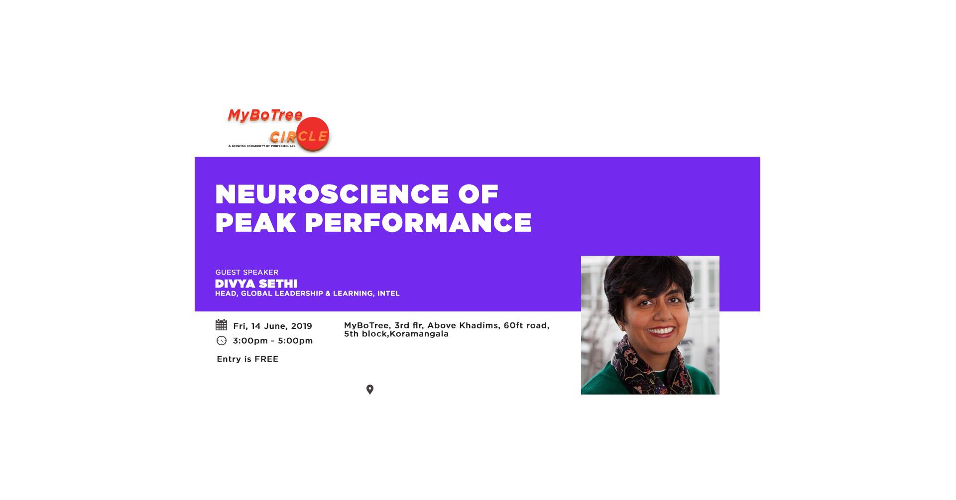Neuroscience of peak performance 1