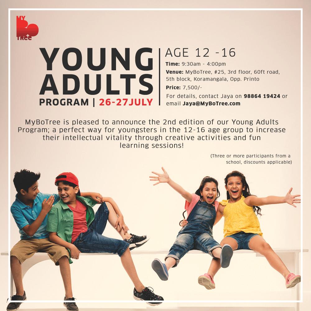 Yiung Adults Program 2