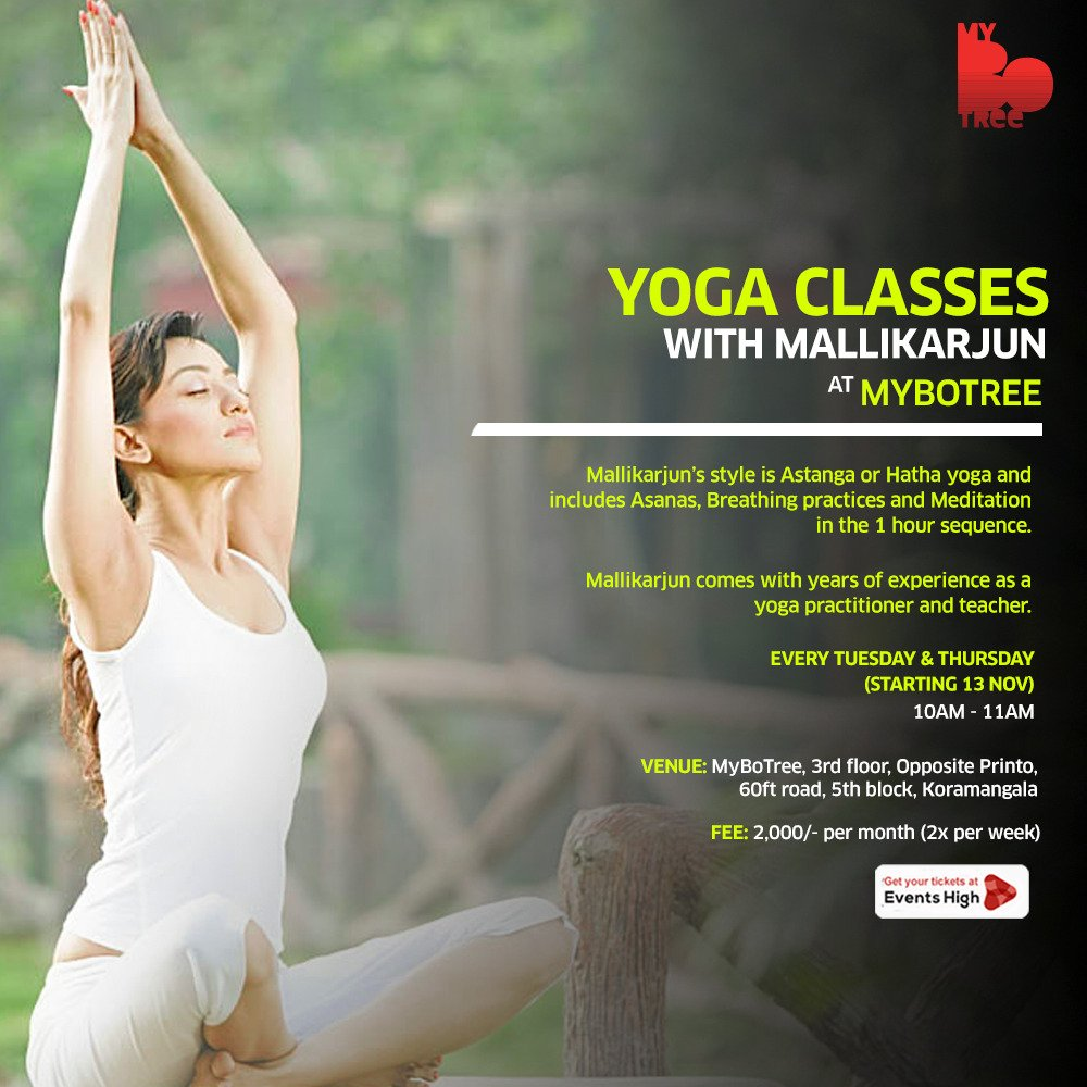 Yoga Classes with Mallikarjun