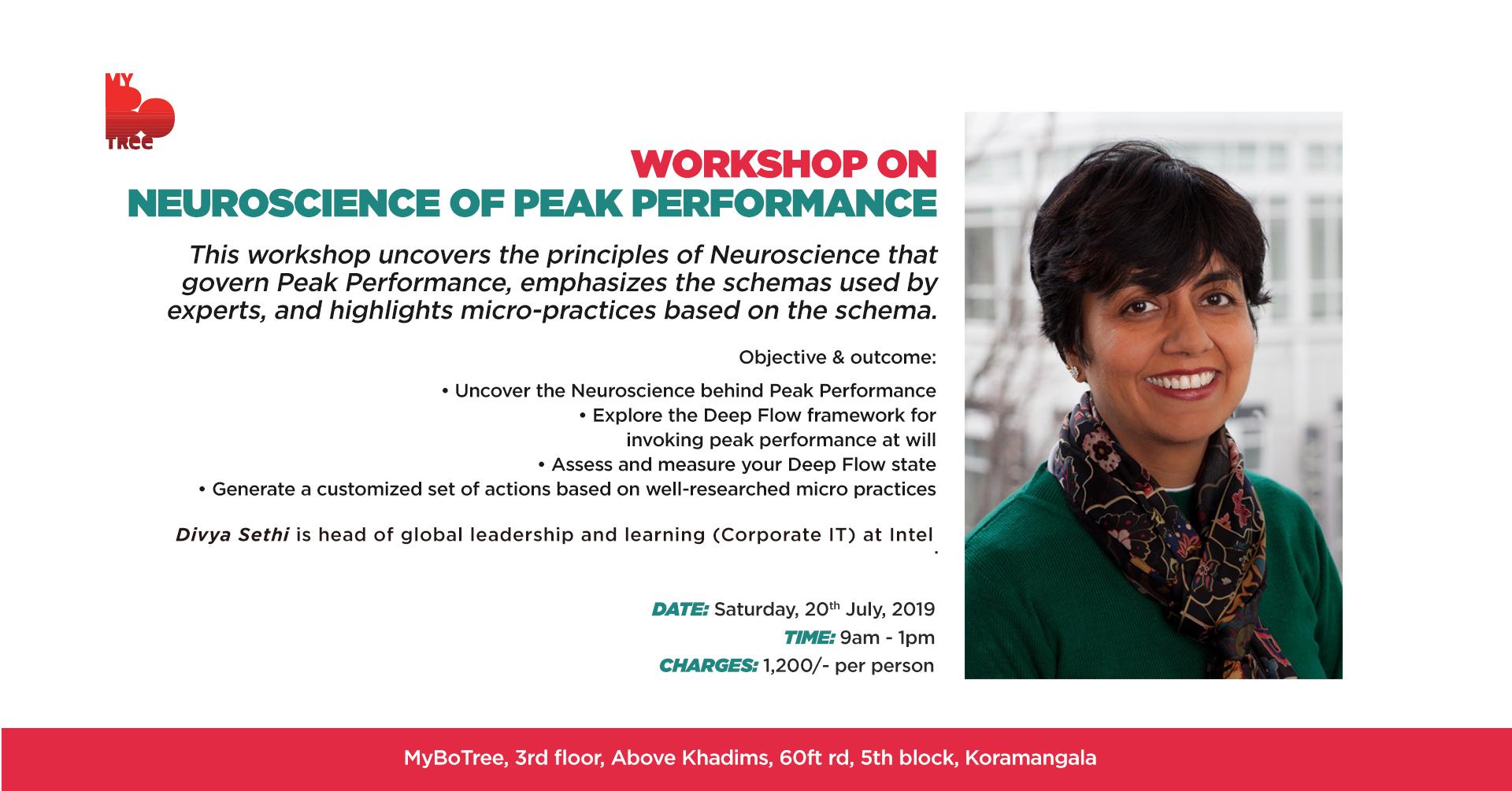 Neuroscience of Peak Performance 2