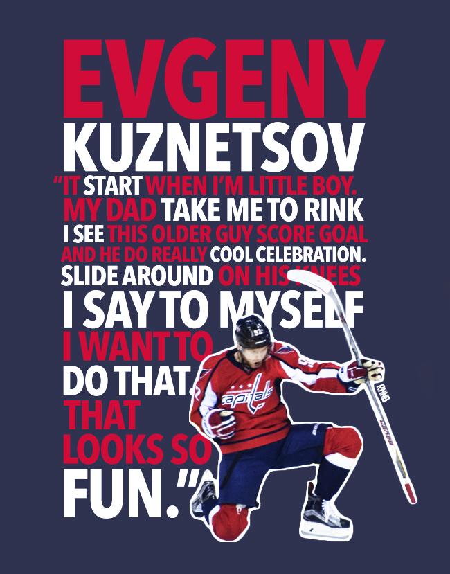 Evgeny Kuznetsov Quote