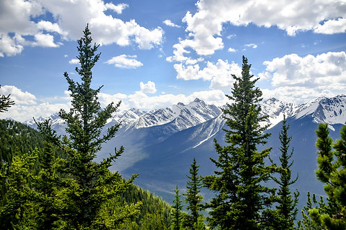 Beautiful Day in the Canadian Rockies | Print