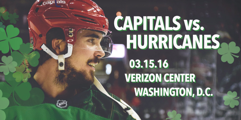Capitals vs. Hurricanes Album Cover