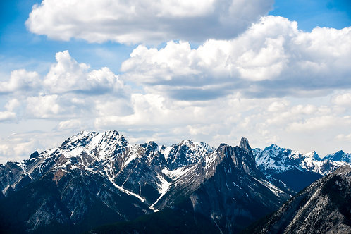 Chilly Canadian Rockies | Print