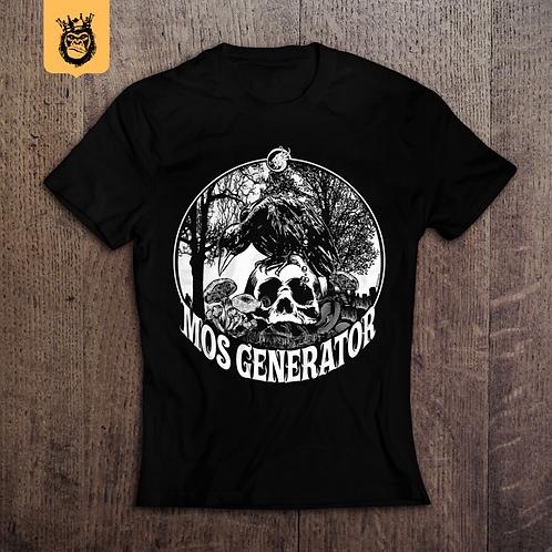 mos generator - skull & raven shirt