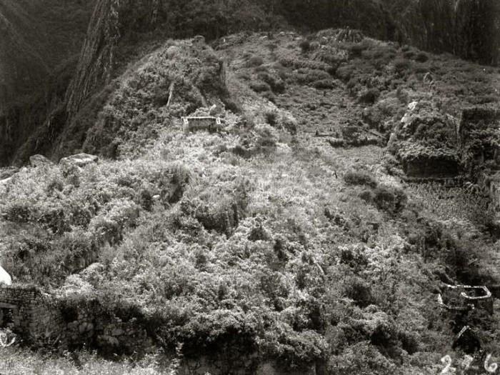 Bingham'ın 1911'de bölgeye ilk ziyaretinde çektiği fotoğraf