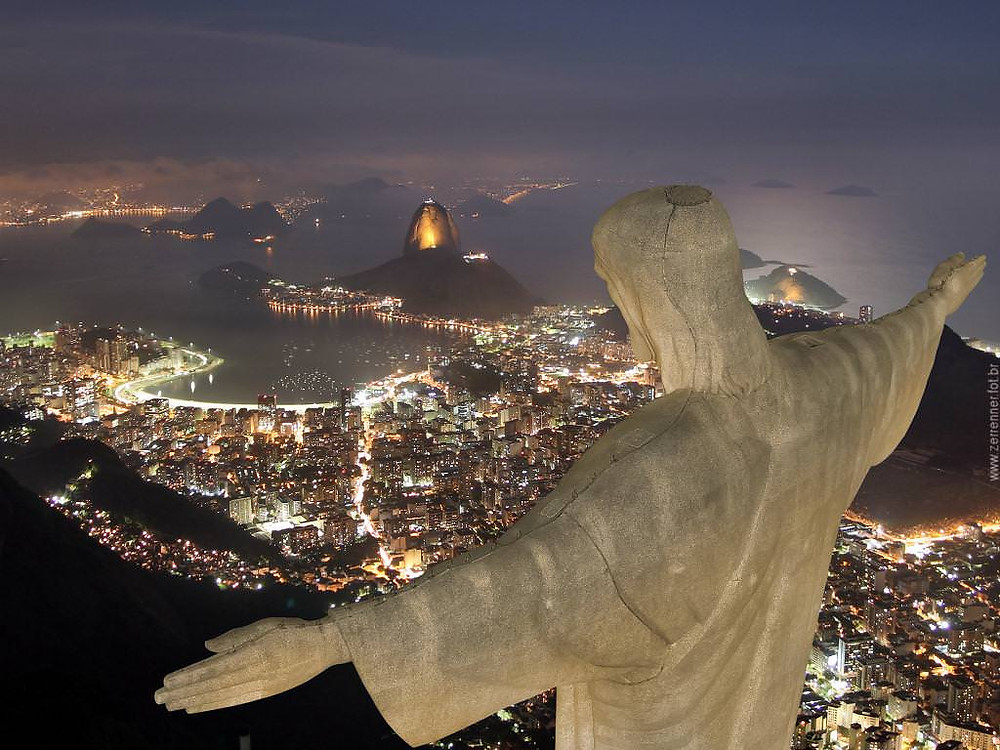 Rio de Janeiro İsa Heykeli