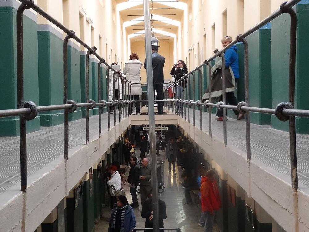 Eski bir hapisane olane Deniz Müzesi