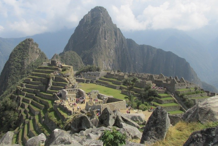 Günümüzde Machu Picchu