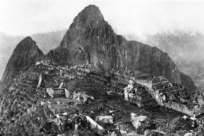 Bingham'ın 1912'de ikinci ziyaretinde çektiği fotoğraf