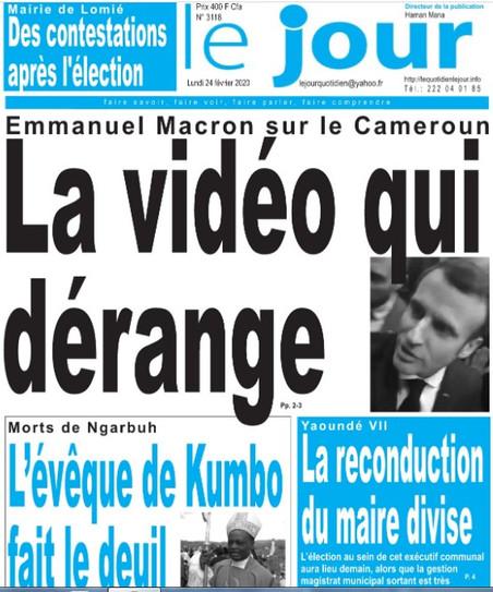 REVUE DE PRESSE AFRICAINE ET INTER EDITION DU LUNDI 24 02 2020.