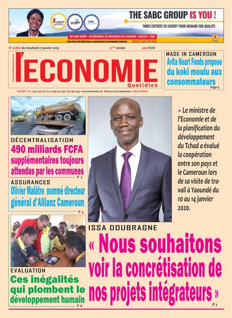 REVUE DE PRESSE AFRICAINE ET INTER EDITION DU VENDREDI 17 01 2020.
