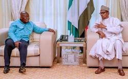Nigeria- Ghana : rencontre a huis clos entre Nana Akufo-Addo et Muhammadu Buhari à Abuja
