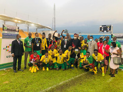 Tournoi UNIFFAC U-20 : Le Cameroun remporte le tournoi avec un junior Sunday brillant.