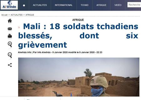 REVUE DE PRESSE AFRICAINE ET INTER EDITION DU VENDREDI 10 01 2020.