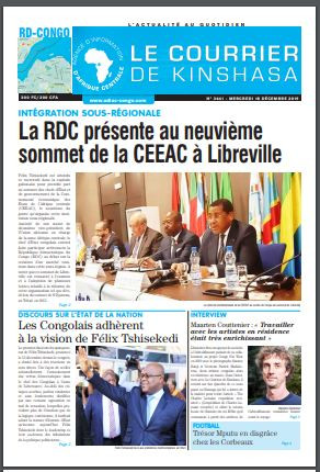 REVUE DE PRESSE AFRICAINE ET INTER EDITION DU MERCREDI 18 12 2019.