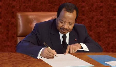 CAMEROUN / DIALOGUE NATIONAL : BIYA ORDONNE LA LIBERATION DE 333 DETENUS LIES A LA CRISE ANGLOPHONE