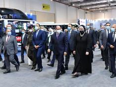 Egypte : Al-Sissi inaugure le 1er forum pour la conversion des véhicules au gaz naturel