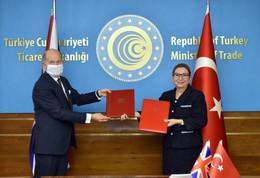 Turquie-Royaume-Uni / L'après-Brexit : signature d'un accord de libre-échange