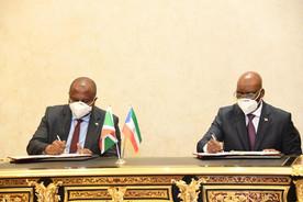 Burundi / Guinée Equatoriale : signature d'un accord de coopération dans le transport maritime