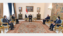 Egypte / Pakistan : Al-Sissi reçoit l'envoyé spécial du président Arif Alawi